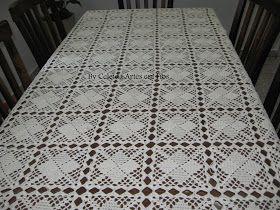 Terminei minha tão sonhada toalha de mesa, achei que ficou linda! E vocês? Usei linha Camila Fashion.