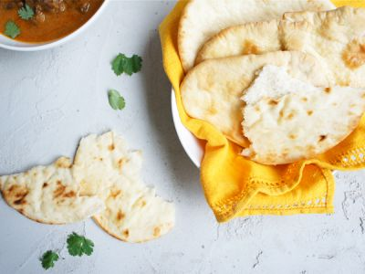 Indian Naan Bread recipe - My family love this served with homemade Indian curries.