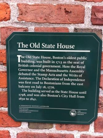 Freedom Trail: The Old State House
