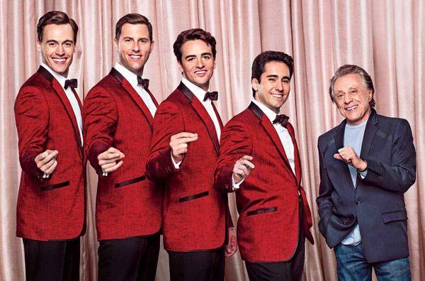 Jersey Boys Movie Cast with Frankie Valli