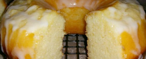 7-Up Lemony Cake ~ This cake is light & fluffy w/lemon flavor, a little tart but still perfectly sweet. The 7-Up caramelizes the crust of the cake & the glaze over the top is a perfect addition ~ this cake is totally  yummy!