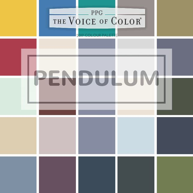Tuesday Trending Ppg S 2017 Coty Color Trendscolor