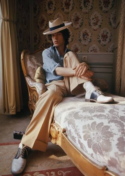 Mike in the mood of Panama hat