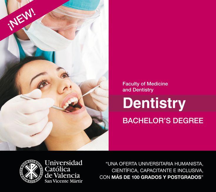 #Grado en #Odontología de la #UCV en #inglés! #Dentistry #Degree #EmpleabilidadUCV #FuturoUCV #TuGradoUCV