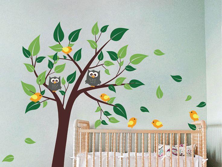10 besten Wandtatoo Baum Bilder auf Pinterest Wandtattoo baum - wandtattoo braune wand
