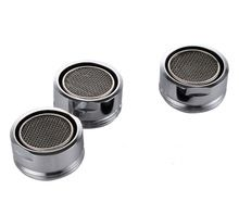 D24mm Male Thread Water Bubbler Swivel Head Saving Tap Faucet Aerator Connector Diffuser Nozzle Filter Mesh Adapter