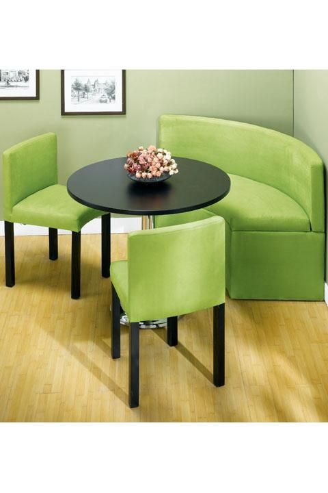 Corner Kitchen Table With Green Sofa