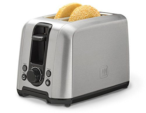 Toastmaster TM-22TS 2 Slice Stainless Steel Toaster, Silver