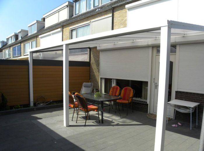 Terrassenüberdachung 300 x 200 cm Aluminium mit Polycarbonat-Platten 16mm