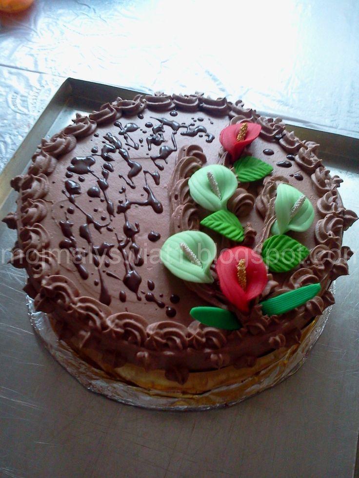 Tort czekoladowy - Mama-Kreatywna