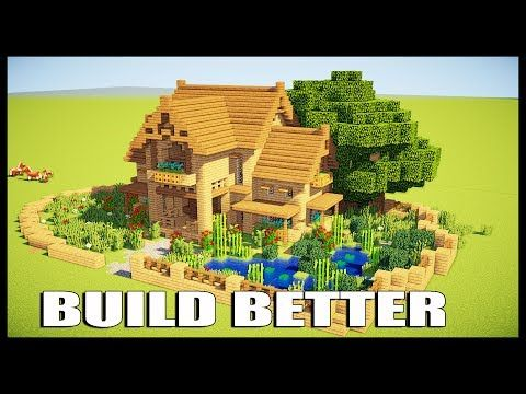http://minecraftstream.com/minecraft-tutorials/5-tips-to-make-a-better-house-in-minecraft-ps4-xbox-one-ps3-xbox-360-pc-pe/ - 5 TIPS TO MAKE A BETTER HOUSE IN MINECRAFT (PS4, Xbox One, PS3, Xbox 360, PC, PE) 5 TIPS TO MAKE A BETTER HOUSE IN MINECRAFT Check this video out also https://www.youtube.com/watch?v=D0GKeHAGRZk&t=1253s Today i'm gonna show you how to make your house better and how to design your house in minecraft, will give you 5 tips and tricks on h