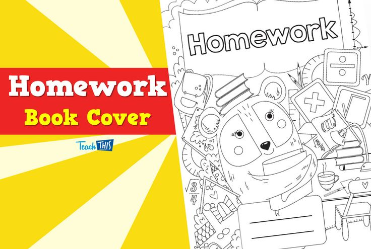 Book Covers Primary School : Book cover homework ver pinterest