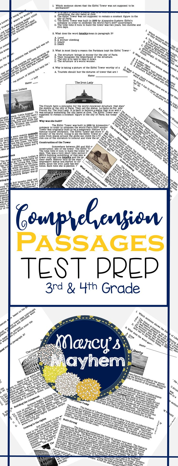worksheet Reading Comprehension Worksheet 5th Grade 1000 ideas about reading comprehension ks2 on pinterest passages for nonfiction these are great test prep homework small group or independent work use y
