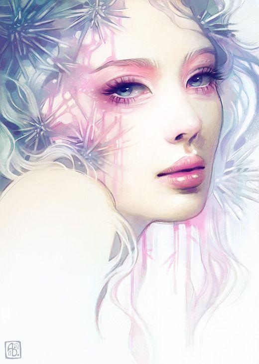 Latest Art by Anna Dittmann http://www.inspirefirst.com/2013/12/05/latest-art-anna-dittmann/