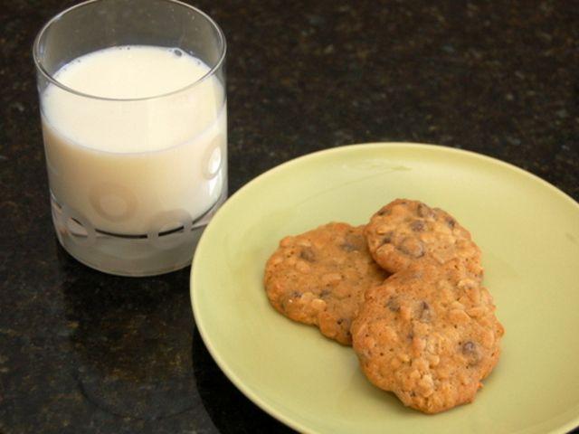 Egészséges sütemények, Csokis zabpelyhes keksz recept