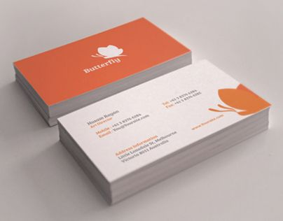 113 best business cards images on pinterest business cards carte butterfly business cards vol 2 reheart Choice Image