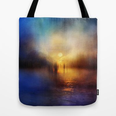 Light Echoes Tote Bag by Viviana Gonzalez - $22.00
