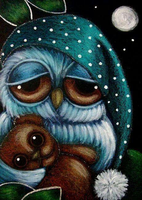 Sleepy time owl