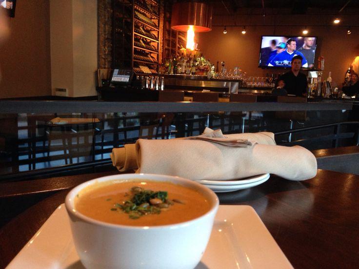 Pumpkin soup- Blackhawk, CA