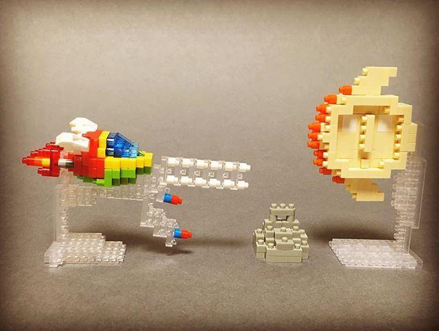 #nanoblock #nanoblocks  #bricks  #blocks#ナノブロック#SEGA #fantasyzone#ファンタジーゾーン #コバビーチ #shootinggame #シューティングゲーム