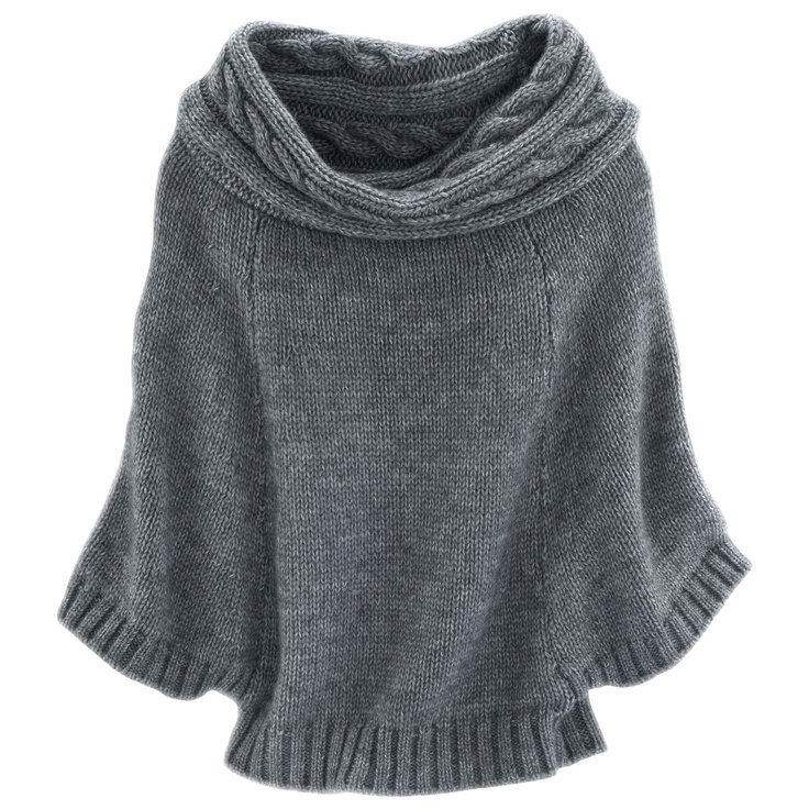 Love this with jeans - I would love to crochet something similar to this, how cute.. and comfy looking!