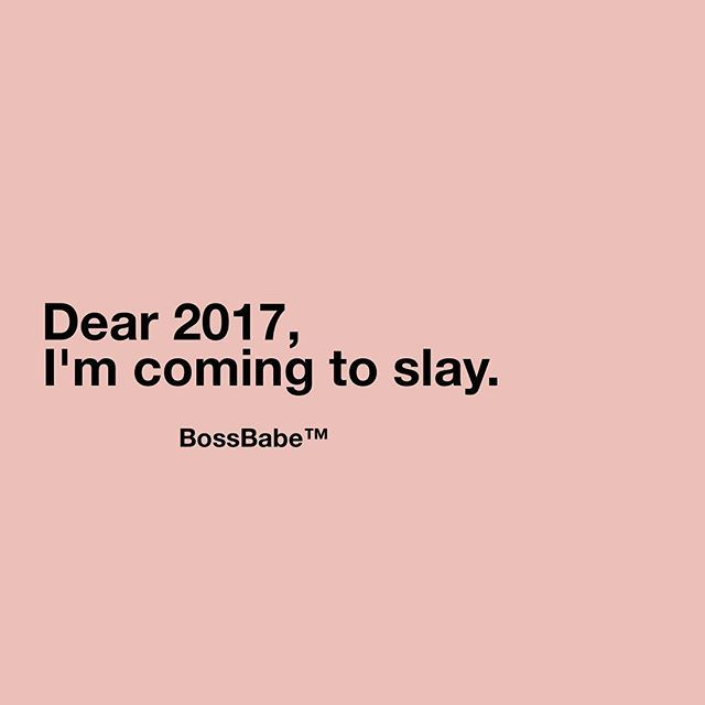 Ready to kick ass in 2017? Come join us. ❤️ BossBabe.me ✔️