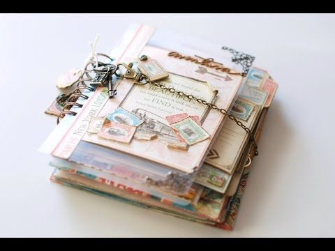 Tutorial Travel Book / Diario de viaje - YouTube