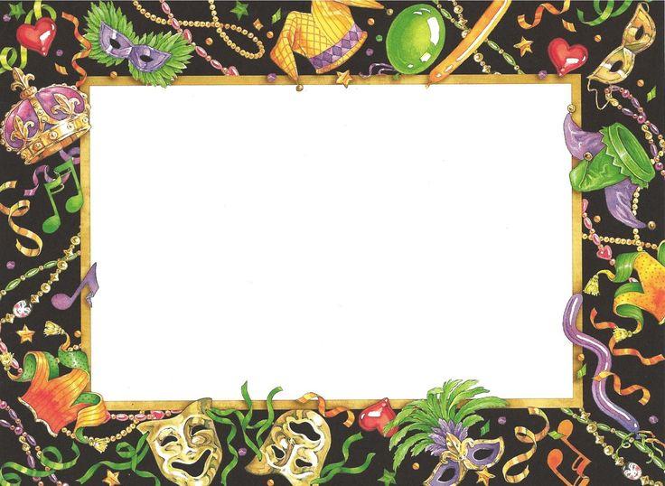 Mardi Gras Invitation with perfect invitation sample