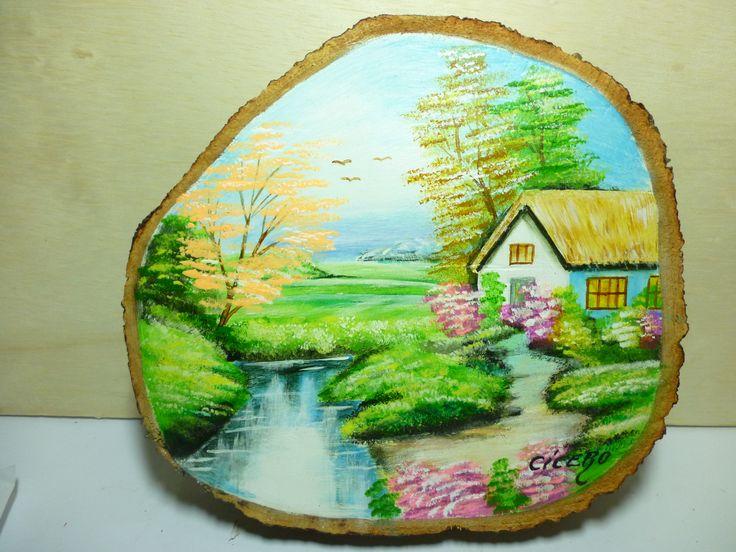 Pintura no tronco