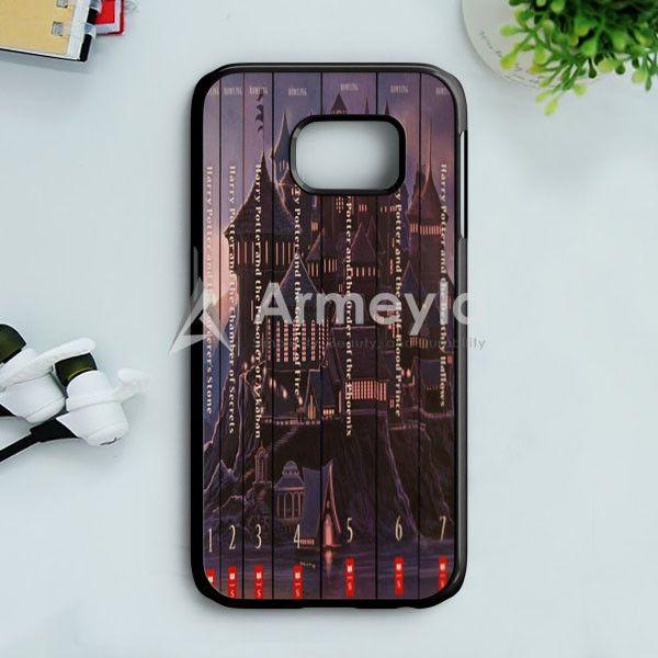Harry Potter Book Collection Samsung Galaxy S7 Edge Case | armeyla.com