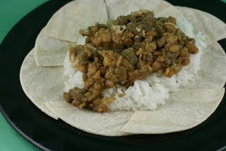Indian Spiced Lentils with Chicken Slow Cooker Recipe