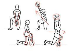 Mobility Exercise - Hip Matrix - Diagonal Variation - for Hip and Thoracic Spine Mobility