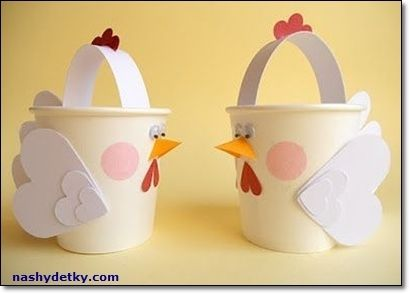 Master Easter baskets with your own hands