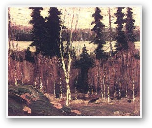 Tom Thomson Clearing Algonquin Park