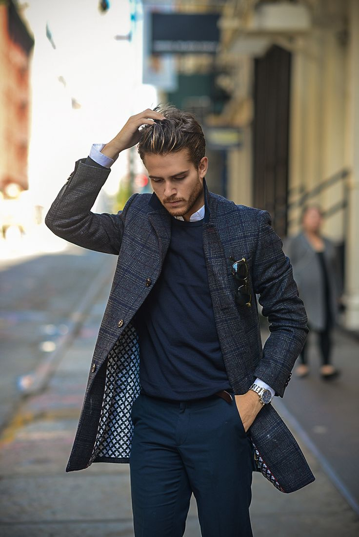 Look homme chic street Mode
