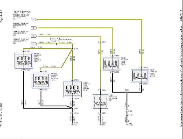 12 Ford Truck Trailer Light Wiring Diagram Truck Diagram Wiringg Net Trailer Light Wiring Truck And Trailer Ford Truck