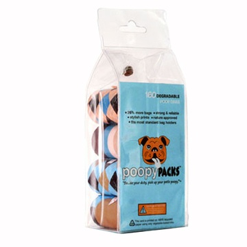 For the dogs that do EVERYTHING with style: Eco-friendly and fashionable dog poo bags!