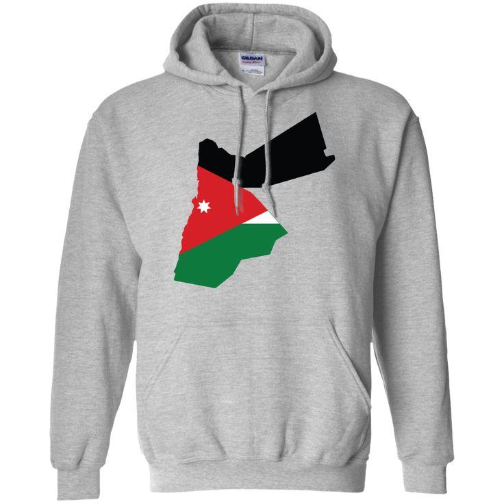Jordan flag Pullover Hoodie 8 oz