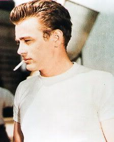 James Dean. Seriously. I have such a crush on him. I don't care how late to the party i am!