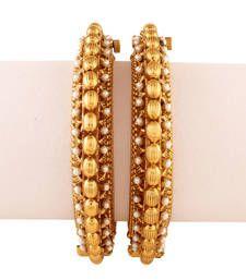 Buy Class Apart Gold plated Antique Bracelet bangles-and-bracelet online