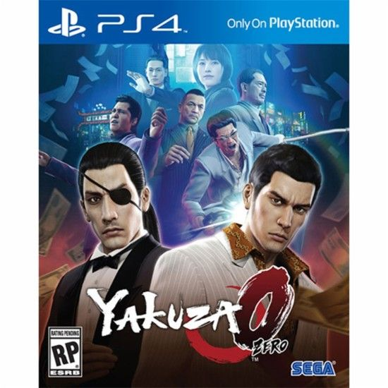yakuza 0 the standard edition playstation 4