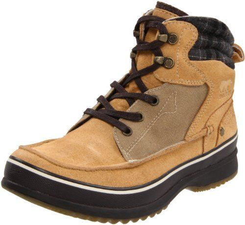 Sorel Men's Kingston Boot SOREL. $88.57. Leather and fabric. Rubber sole