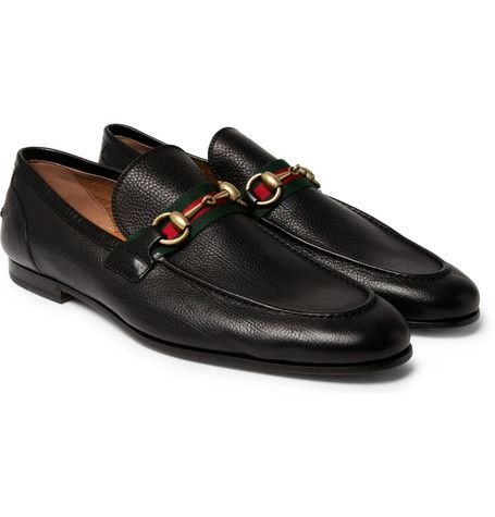 03aa691f890 Gucci - Horsebit Leather Loafers
