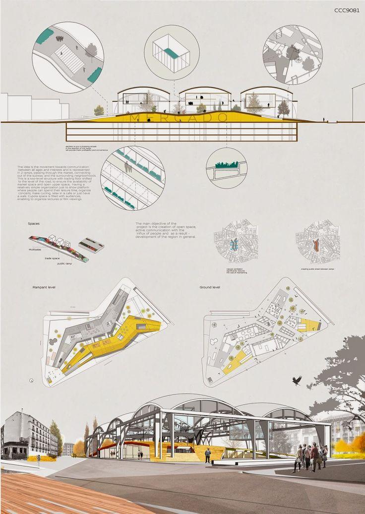 Las 25 mejores ideas sobre laminas de presentacion for Arquitectura planos y disenos