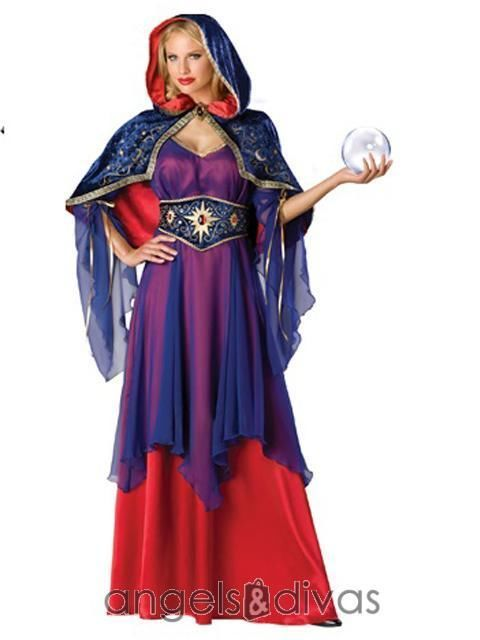 Mystical Sorceress Gypsy Fortune Teller Game of Thrones Costume Size 6-20