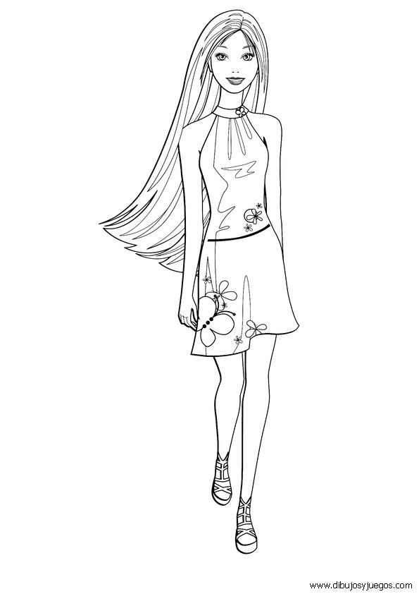 Pin By Lisa Easterwood On Coloring Book Pages Barbie Coloring Pages Barbie Coloring Coloring Book Pages