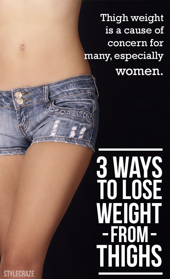 3 Best Ways To Lose Weight From Thighs