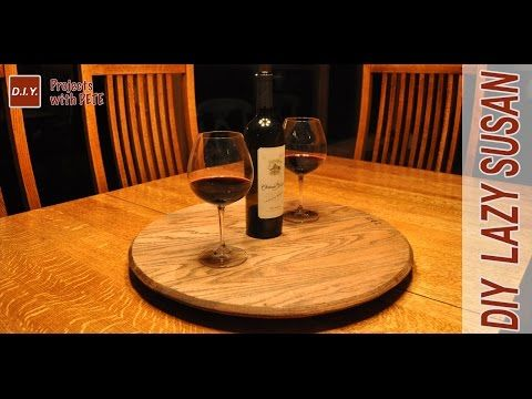 awesome diy lazy susan by diy pete this is a great idea for hosting large