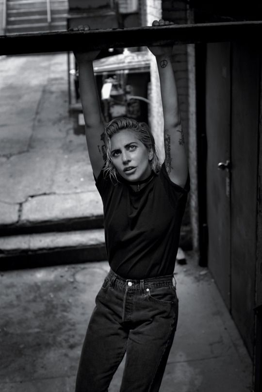 Lady Gaga by Collier Schorr for T Magazine