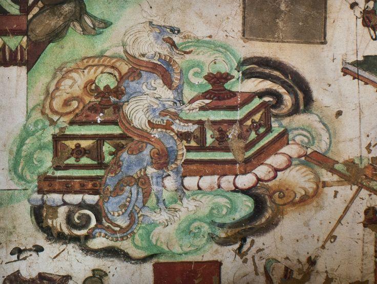 Yulin Cave 25 n wall Maitreya Sutra (Tang)